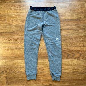 Boys New Balance size 10 12 joggers sweats elastic